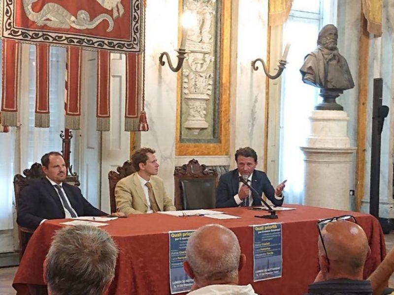 Regionali: M5S, Pd e Leu prove di avvicinamento in Liguria